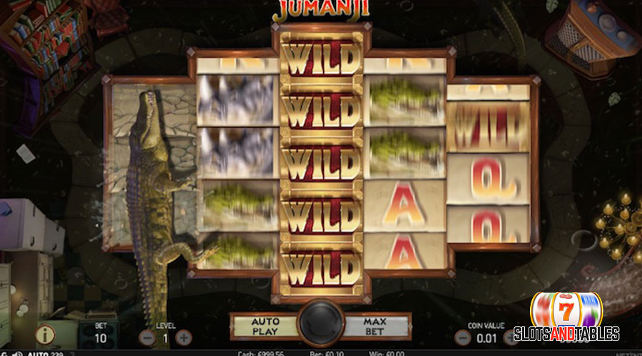 jumanji slot - slots and tables