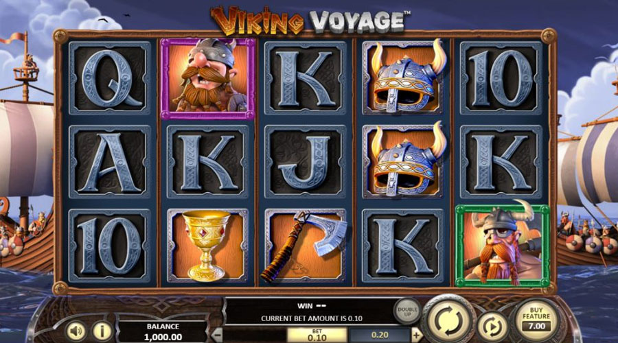 Viking Voyage Screenshot - Slots and Tables