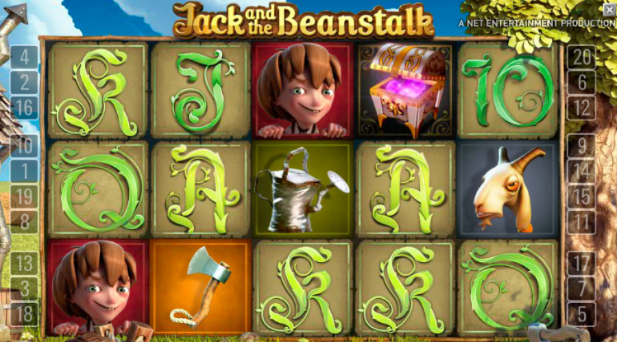Jack and the Beanstalk - Slots and Tables