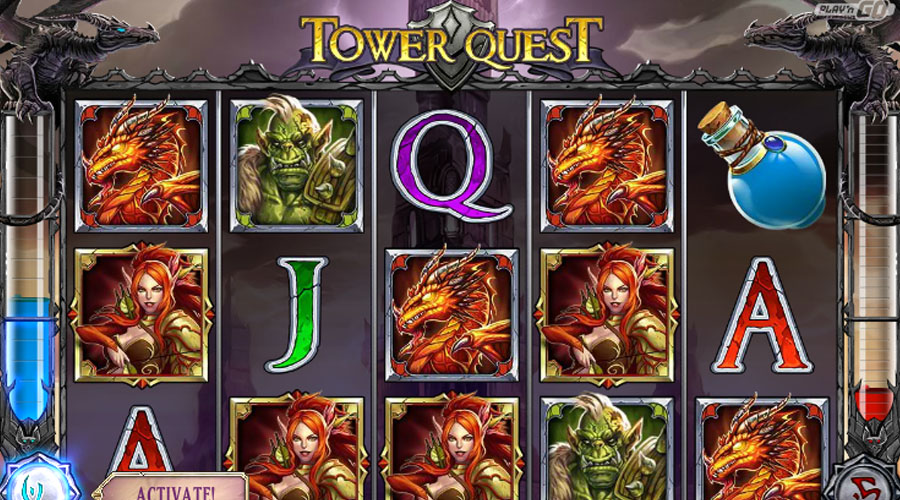 Tower Quest - Slots and Tables