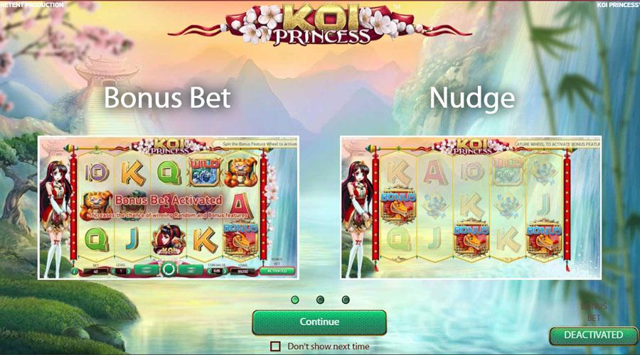 Play Koi Princess Netent Slot 96 Rtp Free Spins Slots And