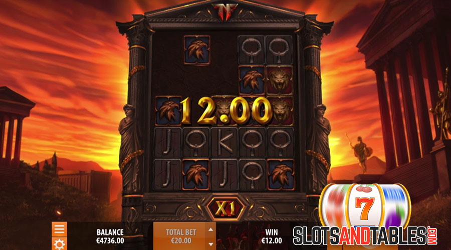 Nero Slot Theme and Visual Details - Slots and Tables