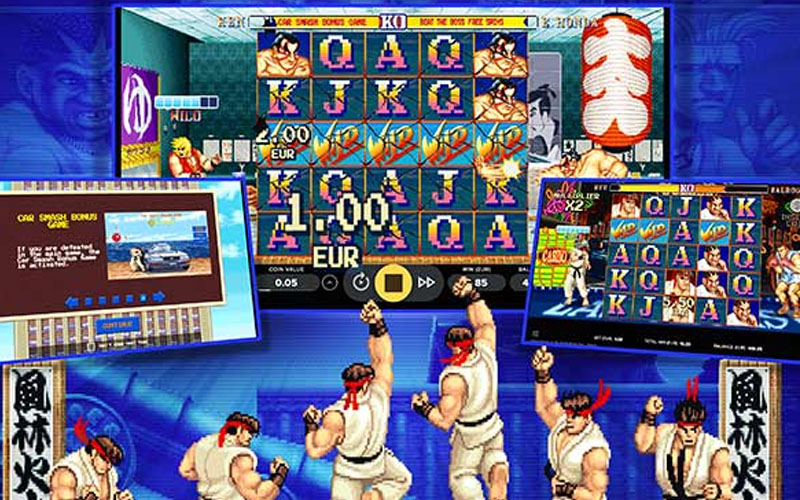 Street Fighter Slot by Netent