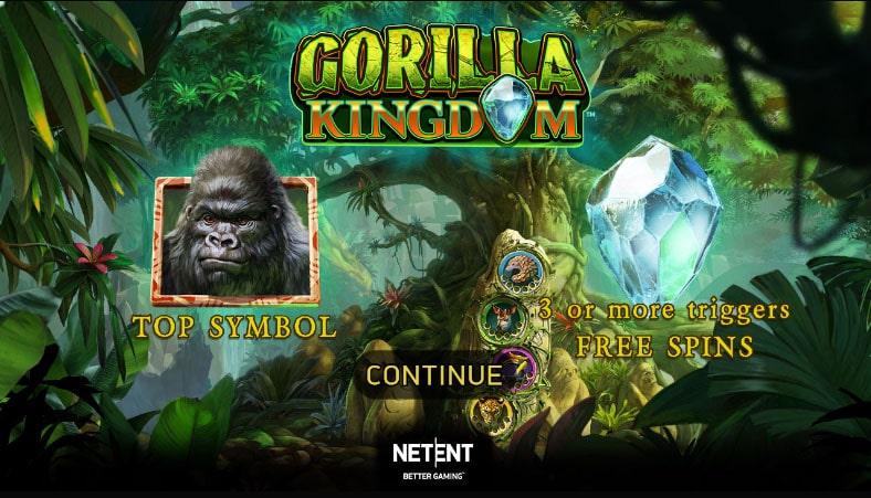 Gorilla Kingdom Slot Game - Slots and Tables
