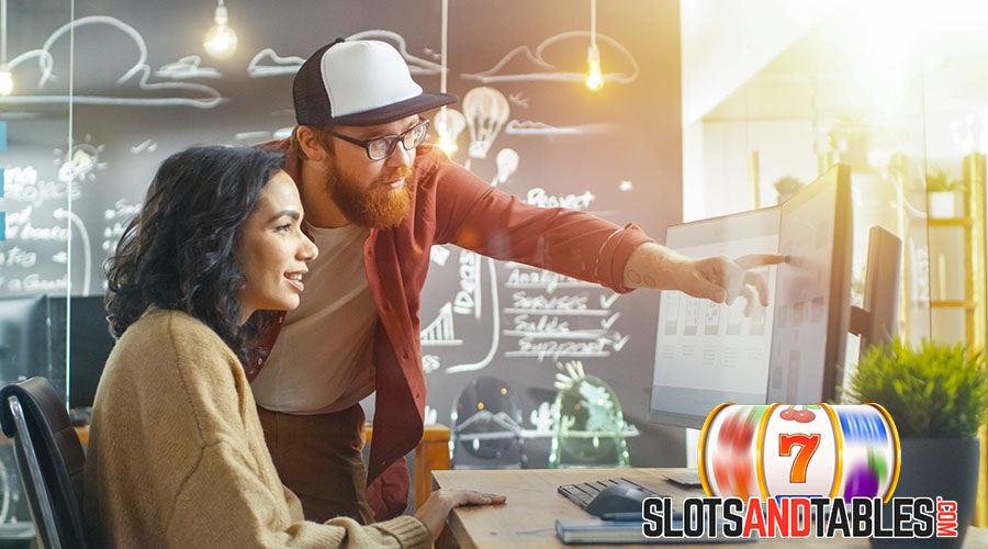 Working as a designer at an online casino - Slots and Tables